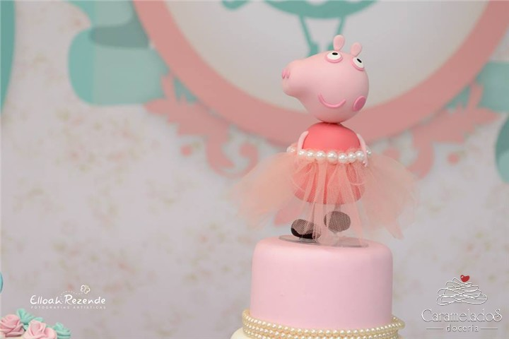 {Mini Party} Peppa Bailarina para Fernandinha